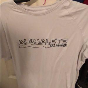 Alphalete Grey Shirt